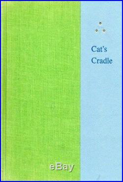 KURT VONNEGUT SIGNED FIRST EDITION CAT'S CRADLE 1963 Holt Rinehart Winston