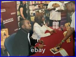 Kanye West Donda West Signed Autographed First Edition Book Raising Kanye YEEZY