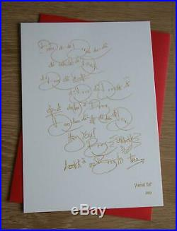 Kate Bush How to be Invisible signed limited first edition and print