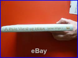 Kazuo Ishiguro,'A Pale View of Hills' First Edition SIGNED 1st/1st, Booker
