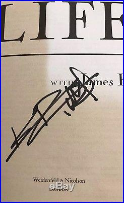 Keith Richards Signed Book Life First Edition Guaranteed Rolling Stones