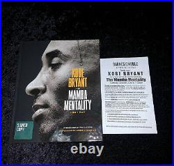 Kobe Bryant Lakers Mamba Mentality Signed 1st Edition Hardcover Book