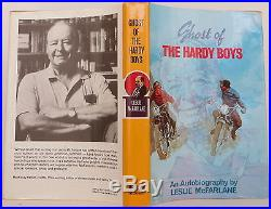 LESLIE MCFARLANE Ghost of the Hardy Boys INSCRIBED FIRST EDITION