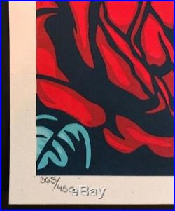 LIFEGUARD NOT ON DUTY Shepard Fairey Signed/Numbered FIRST EDITION