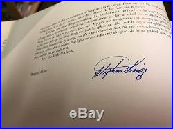 LORD JOHN SIGNATURES FIRST EDITIONSIGNED BY ALL AUTHORS Stephen King, Bradb