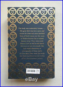Lady Midnight Waterstones Signed 1st/1st Runes Edition Cassandra Clare