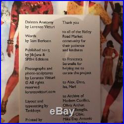 Lorenzo Vitturi Dalston Anatomy 1st Edition Signed