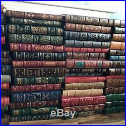 Lot of 104 Franklin Library Books 100 Greatest Masterpieces Signed First Edition