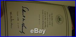 Lot of Kennedy Signed Books Rare 1st Editions