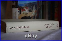 Louis de Bernieres,'Captain Corelli's Mandolin', SIGNED first edition 1st/1st