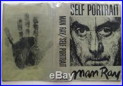 MAN RAY SIGNED SELF PORTRAIT First Edition surrealist artist photographer