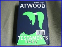 MARGARET ATWOOD SIGNED THE TESTAMENTS Limited First Edition HANDMAID'S TALE