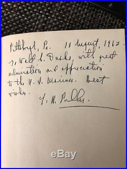 MARINE THE LIFE OF CHESTY PULLER First Edition Signed by Chesty Puller Autograph