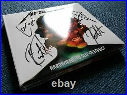 METALLICA Hardwired. To Self-Destruct FULLY SIGNED by METALLICA