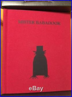 MISTER BABADOOK-LIMITED FIRST EDITION POP UP BOOK-SIGNED BY AUTHOR-NEWithRARE/OOP