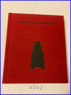 MISTER BABADOOK Pop-up Book 1st Edition Signed Jennifer Kent