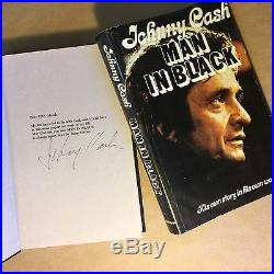 Man in Black by Johnny Cash (Signed, Limited First Edition, Hardcover in Jacket)