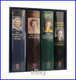 Margaret Thatcher 4 Book Collection All Signed All First Editions