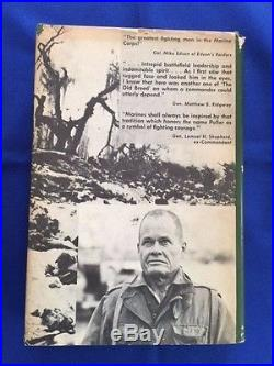 Marine! The Life Of Chesty Puller First Edition Inscribed By Burke Davis