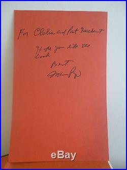 Mario Puzo,'The Godfather', SIGNED true US first edition Putnam, Oscars