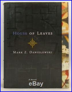 Mark Z. Danielewski SIGNED House of Leaves First Edition, Second State HC/DJ