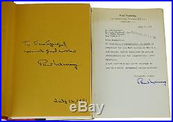 Martin Bormann Nazi in Exile PAUL MANNING SIGNED First Edition 1981 Conspiracy