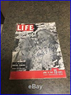 Martin Luther KING JR- SIGNED First Edition BEST WISHES ONE DAY LIFE MAGAZINE