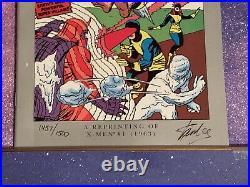 Marvel Milestone Editions X-Men #1 Stan Lee Signed COA Comic 1st Professor Team
