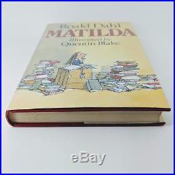 Matilda Roald Dahl Signed First Edition 1st/1st