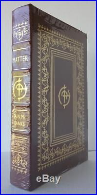 Matter by Iain M. Banks (Easton Press) First Edition, Limited Signed