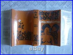 Mishima, Yukio'After the Banquet', SIGNED INSCRIBED first edition 1st/1st