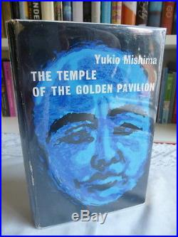 Mishima, Yukio,'The Temple of the Golden Pavilion' SIGNED first edition 1/1