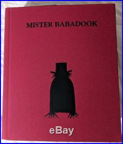 Mister Babadook Book Limited First Edition Signed By Jennifer Kent