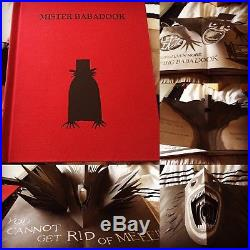 Mister Babadook Limited Edition Pop Up Book New. First edition signed