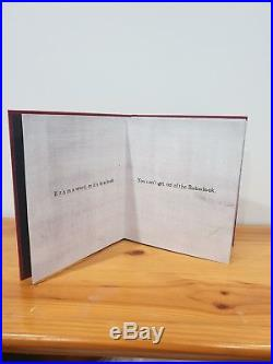 Mister Babadook Pop-up Book SIGNED FIRST EDITION 182/2000 THE BABADOOK Book