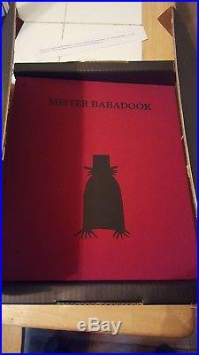 Mister Mr Babadook Book First Edition Pop-up Book Signed Jennifer Kent Nib Oop