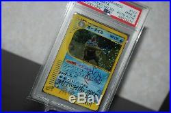 Mitsuhiro Arita SIGNED 1st Edition Feraligatr Expedition PSA Pokemon