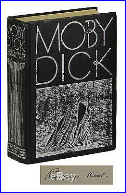 Moby Dick HERMAN MELVILLE First Edition Thus 1930 SIGNED by ROCKWELL KENT