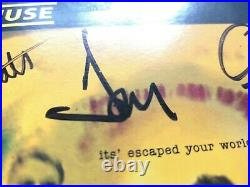 Muse Muscle Museum SIGNED Vinyl 7 Single Ltd Edition 1st Press 1999