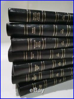 NARNIA First Edition CS LEWIS Signed 1950-1956 Full Set REBIND