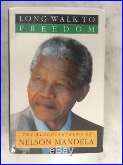 NELSON MANDELA AUTOBIOGRAPHY The Long Walk to Freedom Signed First Edition