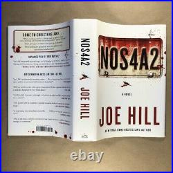 NOS4A2 by Joe Hill (Signed, First Edition, Hardcover in Jacket)