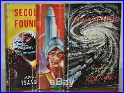 NR FINE SIGNED FIRST STATE 1ST/1ST EDITIONSTHE FOUNDATION TRILOGYISAAC ASIMOV