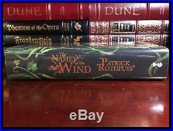 Name of the Wind SIGNED by PATRICK ROTHFUSS New Limited Edition 1/250 1st Print