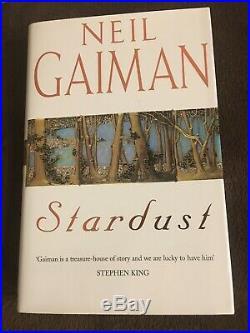 Neil Gaiman's'Stardust'. Signed. 1st Edition. Hardback