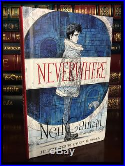 Neverwhere SIGNED by NEIL GAIMAN Brand New Illustrated Edition 1st Print Gift