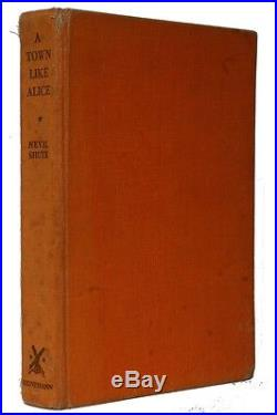 Nevil Shute A Town Like Alice Heinemann, 1950, AU Signed First Edition