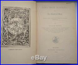 News from Nowhere' by William Morris 1890 FIRST EDITION Signed by E. W. Thomson