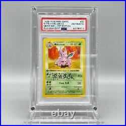 Nidorino 1st Edition Shadowless 37/102 BASE SET Signed Mitsuhiro Arita Pokemon