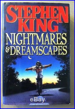 Nightmares and Dreamscapes by Stephen King (Signed, First Edition, Hardcover)